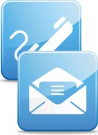 Email telephone icon