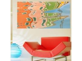 Adesivo murale Cinque Terre M