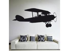 Adesivo murale Aeroplano