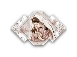 Quadro sacro Maternità - Maternity Kiss Shabby