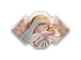 Quadro sacro Maternità - Maternity Ceramic