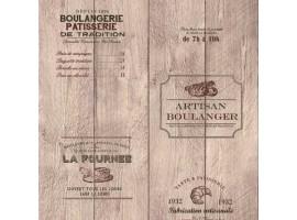 carta da parati cucina vintage