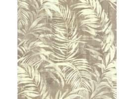 Carta da parati foglie tropicali vintage