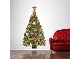 Adesivo muro/vetro Albero di Natale