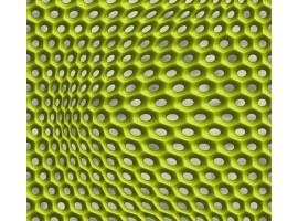 carta da parati ipnotic verde