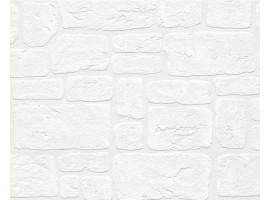 Mattoni bianchi - Carta da parati