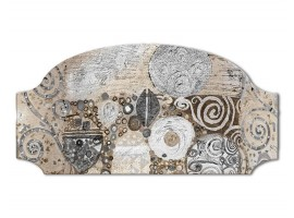 Quadro sagomato Klimt Style