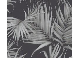 Carta da parati foglie di palma