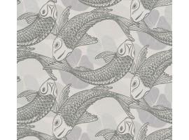 Carta da parati Pesci Giapponesi