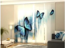 Tenda a 4 pannelli Farfalle