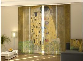 Tenda a 4 pannelli Gustav Klimt Il Bacio