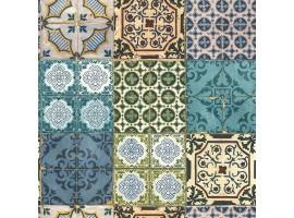 Carta da parati azulejos cementine