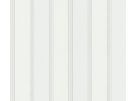 carta da parati righe Bianche e Grigie Glitter