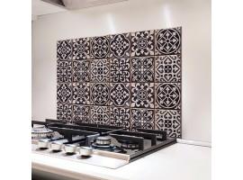 schienale adesivo azulejos bianco e nero