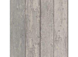 carta da parati legno vintage grigio