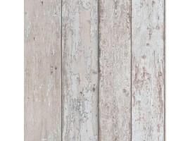 carta da parati legno vintage grigio beige