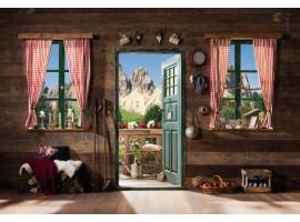Fotomurale Porta sulle Dolomiti