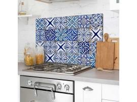 paraschizzi in alluminio Azulejos Azzurro
