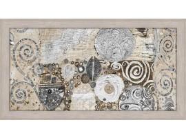 Quadro in legno con cornica Klimt Style