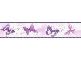 bordo adesivo farfalle