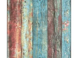 carta da parati legno shabby color