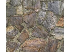 carta da parati pietre rustico chic