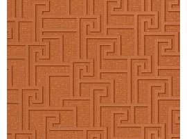 Carta da parati Versace greca marrone