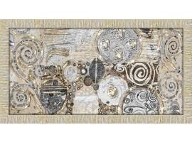 Quadro in legno con glitter Klimt Style oro