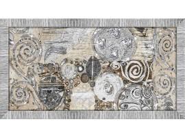 Quadro in legno con glitter Klimt Style