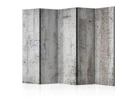 paravento cemento grigio