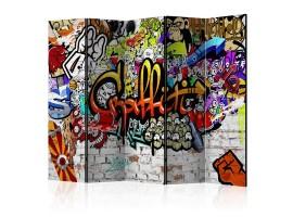 separè paravento graffiti