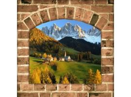 Trompe l'Oeil | Arco sui monti