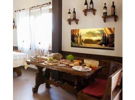 Adesivo per cucina ambientazione | Degustazione Toscana