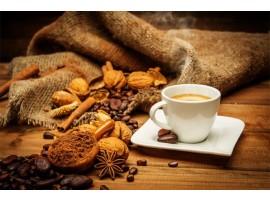 Adesivo per cucina | Caffè bollente