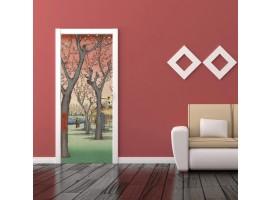 adesivo per porta alberi