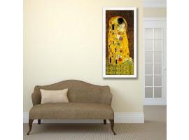Quadro in legno con cornica Il Bacio Klimt
