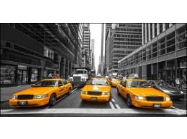 NY Taxi   Quadro America su tela