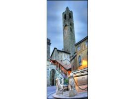 Bergamo Piazza Vecchia | Quadro su tela