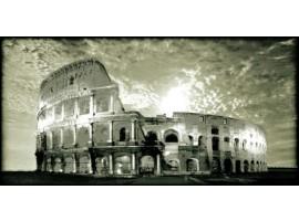 Roma Colosseo Bianco e Nero | Quadro su tela