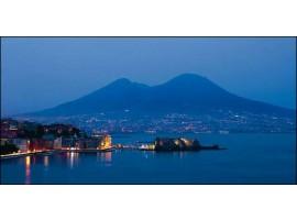 Napoli di sera | Quadro su tela
