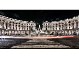 Piazza Esedra | Quadro su tela