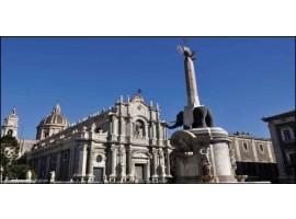 Catania Piazza del Duomo | Quadro su tela