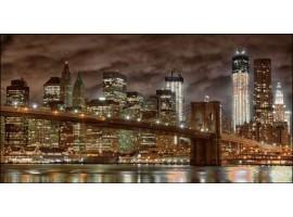 New York | Quadro America su tela