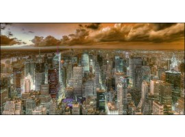 New York View   Quadro America su tela