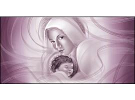Quadro Maternità Viola