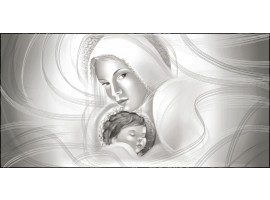 Quadro Maternità Grigio