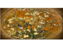 Rami in fiore brown glitter