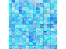 Carta da parati adesiva | Mosaico azzurro