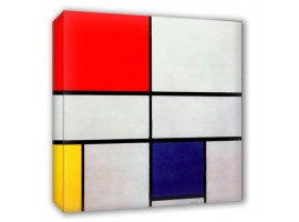 Composition with red - Mondrian