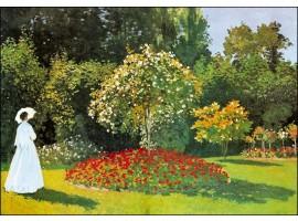 Signora in giardino a Sainte-Adresse - Monet